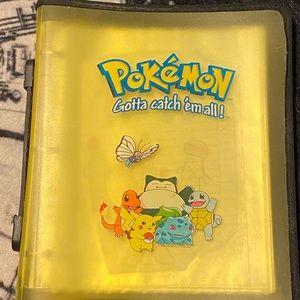Pokémon binder   &  white binder 469 cards inside